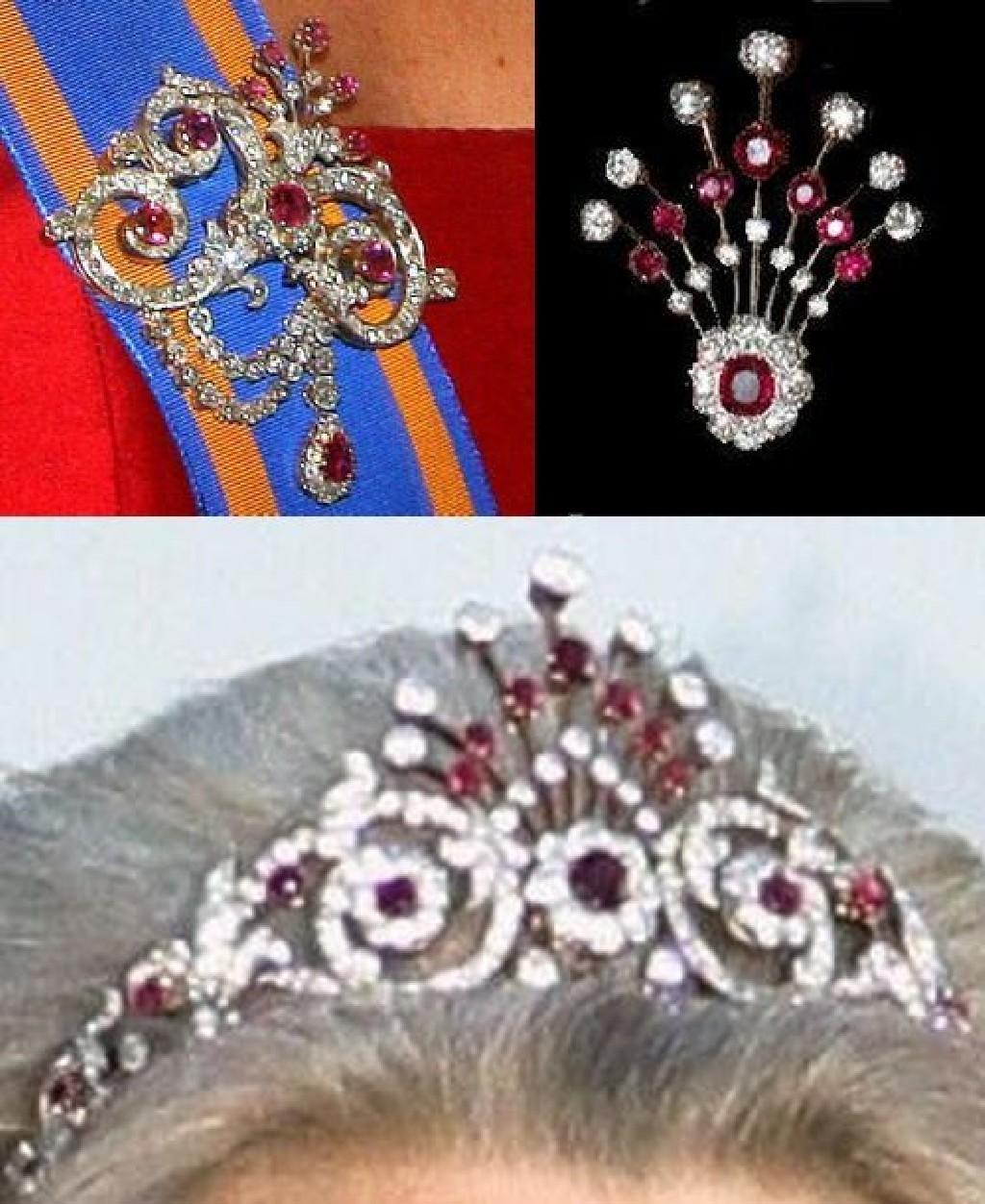 Тиары королевской семьи Великобритании: фото Елизаветы II