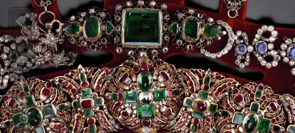 Ожерелье святого Януария. Фрагмент.