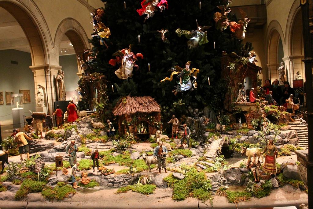 Рождественские фигурки в стиле барокко
