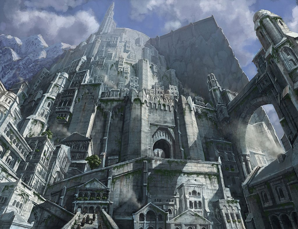 lord ring minas tirith city crowdfunding