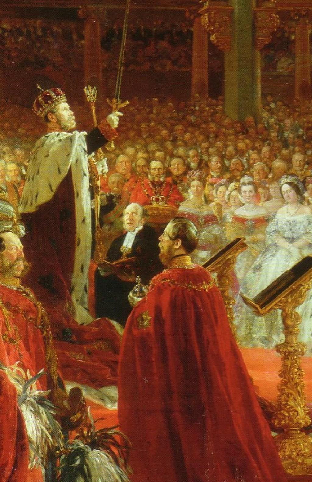 Коронация царя картинки