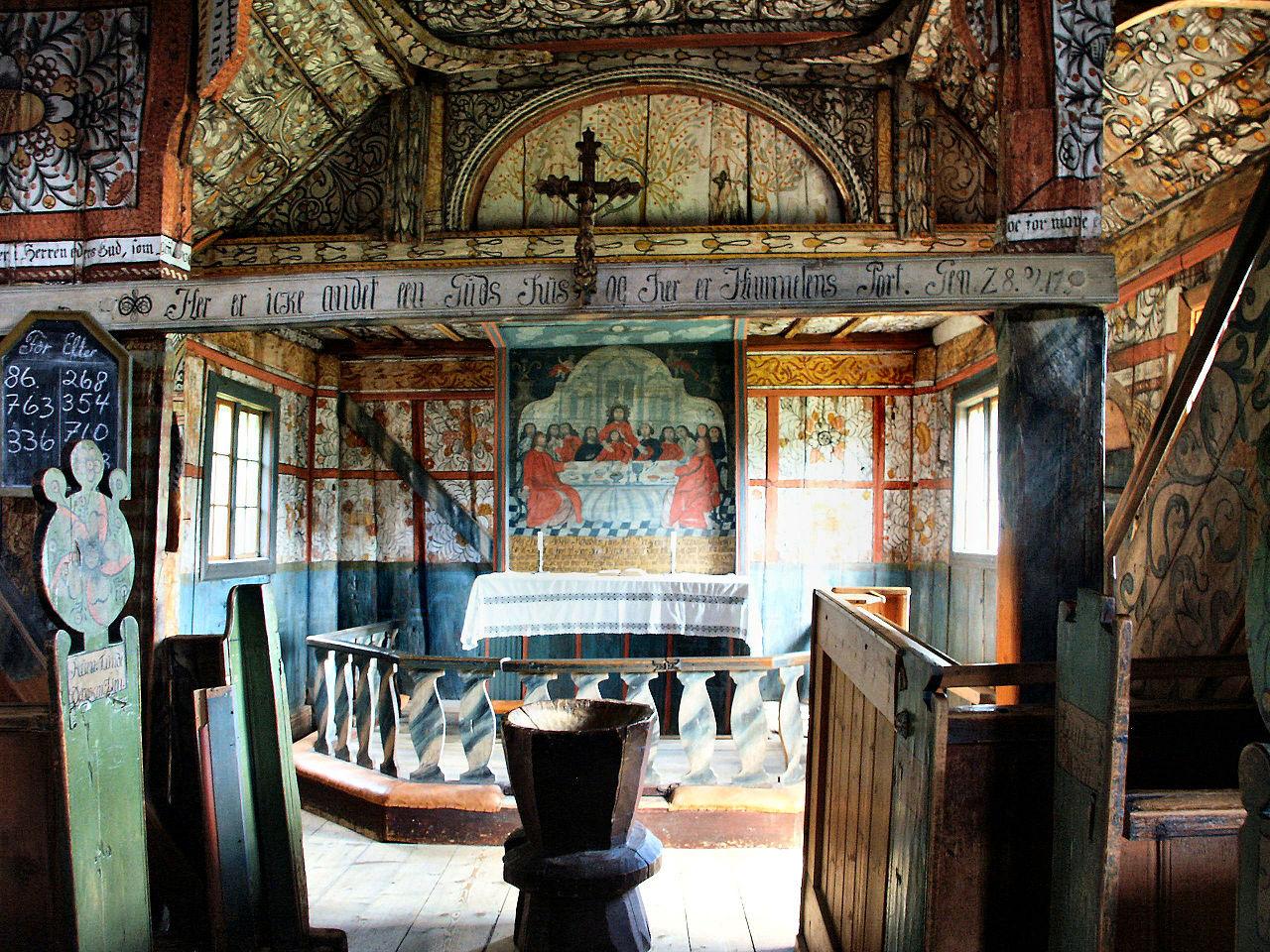 Обои Норвегия, деревянная, церковь. Разное foto 16