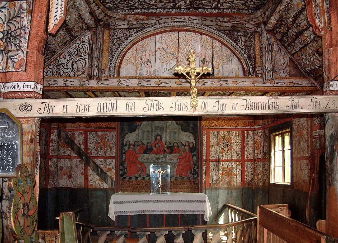 Обои Норвегия, деревянная, церковь. Разное foto 8